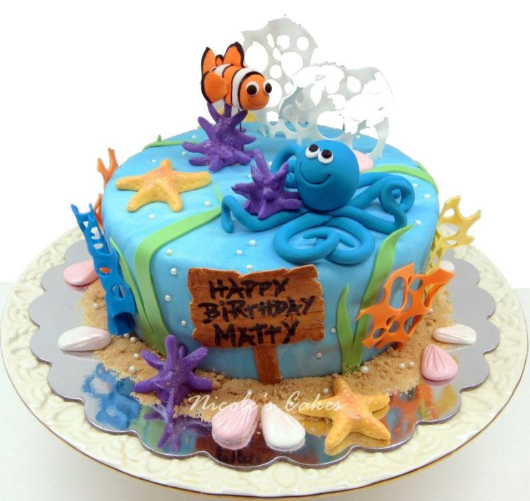 Оформление тортов с днем рождения для детей