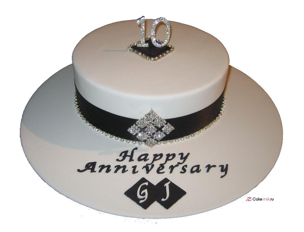 10 Year Anniversary Cake 10 Year Wedding Anniversary Cakes Cake Decorative - Decor Cake Picture for Parties
