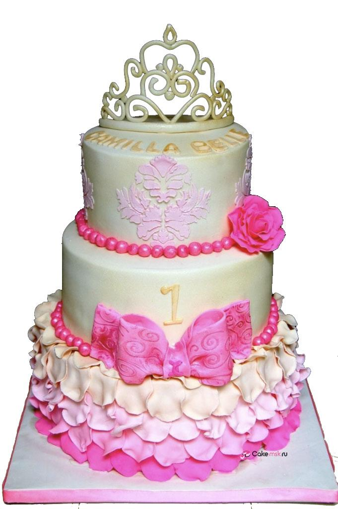 1st Birthday Princess Cake Amazing 1st Birthday Princess Cake - Decor Cake Picture for Parties